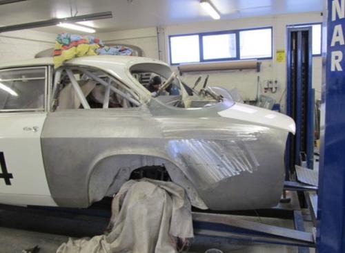Alfa Romeo Race Car