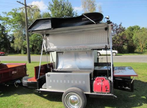 Jailbar BBQ Trailer